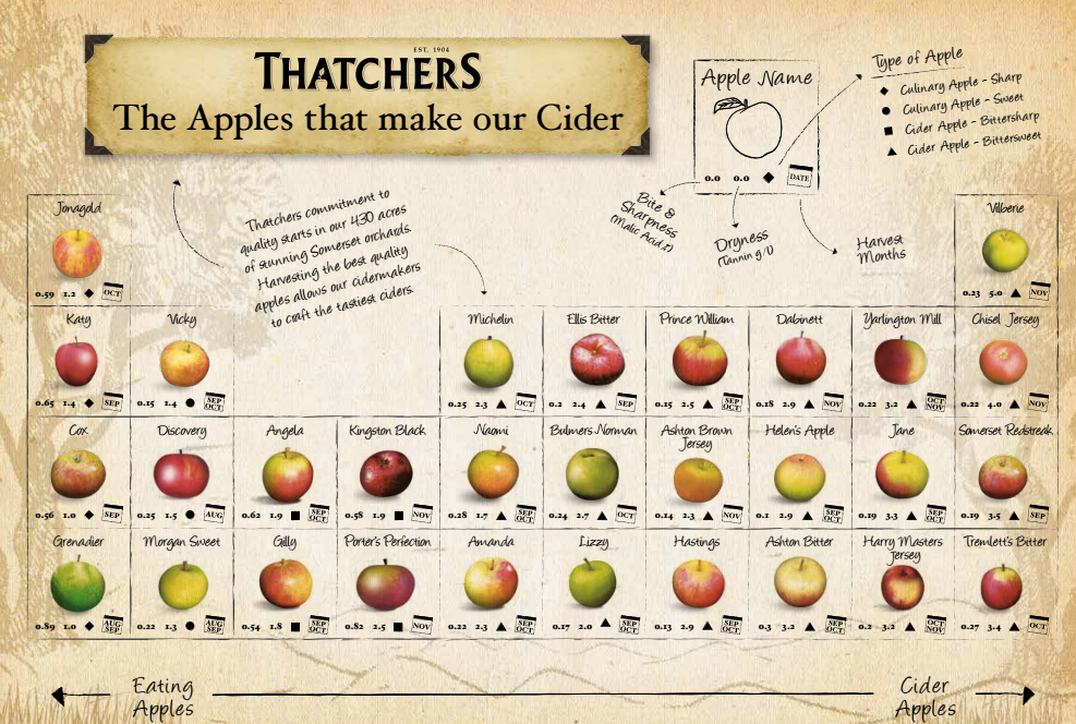 THATCHERS APPLE GRAPHIC