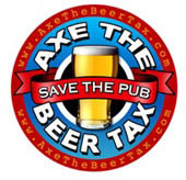 Axe the Beer Tax Logo