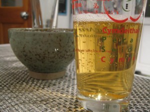 Tasting a real cider